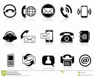 19 Contact Icon Set Circle Free Contact Icon Set