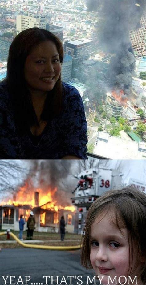 disaster mom  kid god dammit meme  funny images