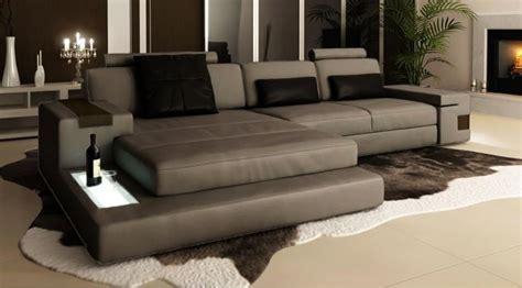 canapé en cuir design canapé d 39 angle en cuir design avignon
