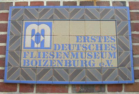Erstes Deutsches Fliesenmuseum Boizenburg