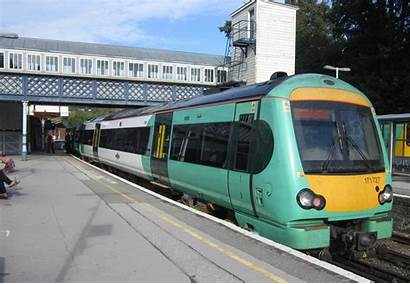 Southern Railway Rail Train Station Trains Thameslink