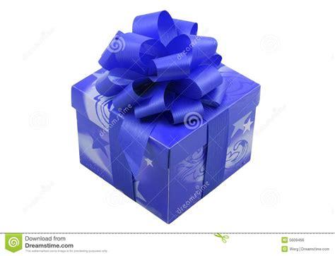 Blue Present Stock Photo Image Of Ribbon, Love, Long 5609466