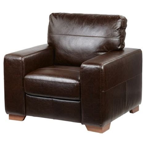 Buy Leather Armchair by Buy Abbott Leather Armchair Chocolate Brown From Our