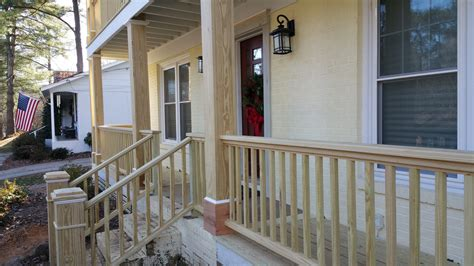 front porch railing how to manage the front porch railing of your house