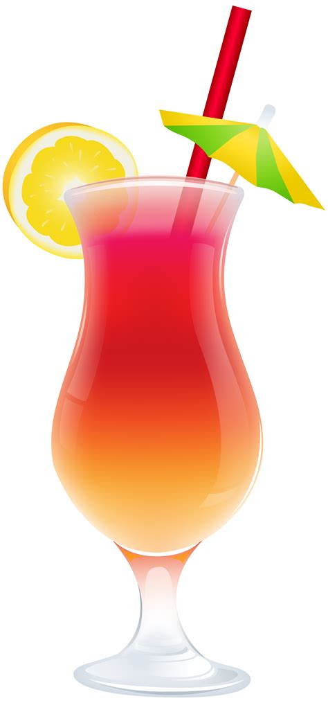 Drinks Clipart Cocktail Clipart Summer Cocktail Pencil And In Color