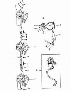 Mercury Marine 115 Hp  6 Cylinder  Carburetor  U0026 Enrichner