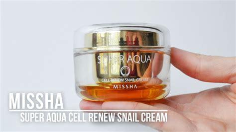 Jual Missha Aqua Cell Renew Snail k missha aqua cell renew snail