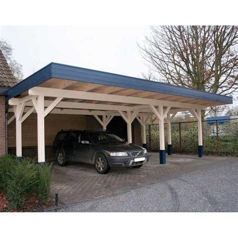 Bertsch Triple Carport 92m X 65m Large, 120mm Glulam Posts