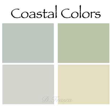why do people like coastal colors so much decorating by