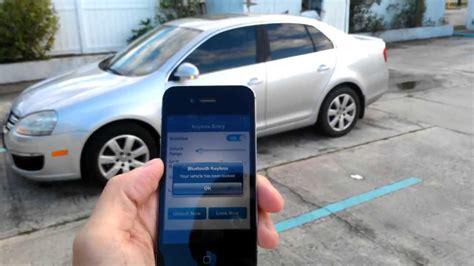 unlock car door with phone demo bluetooth keyless premium unlock car with