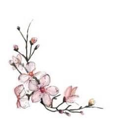 Japanese Cherry Blossom Tattoo Purple Flowers Branch liked ...