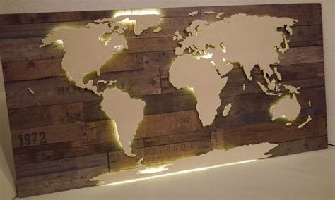 weltkarte aus holz selber bauen vintage 3d weltkarte aus holz beleuchtet classics in 2019 wood world map wood und decor