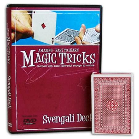 amazing easy to learn magic tricks svengali deck combo