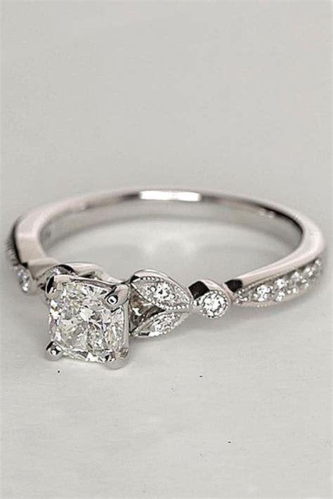 budget friendly engagement rings   wedding