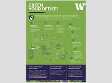Posters and Infographics UW Sustainability