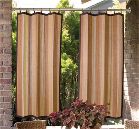 create outdoor rooms with simple patio curtains