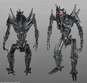 Alien Soldier Robot by TSABER on DeviantArt
