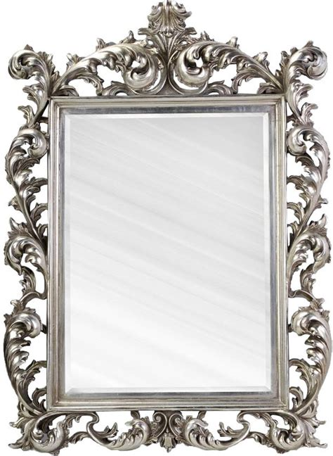 home interiors candles large silver rococo mirror aged mirrors