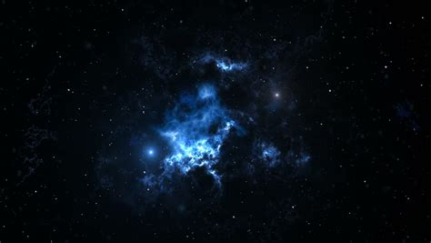 Time Lapse Video From Dynamic Space Nebula Stock Footage