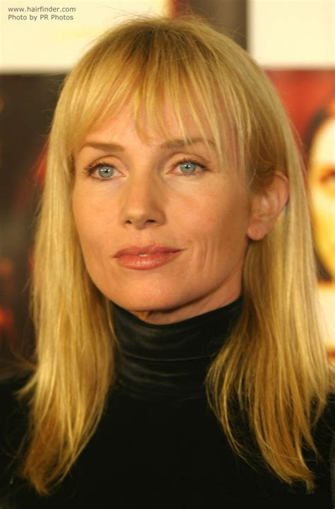 turtlenecked rebecca de mornay  long sunny blonde hair