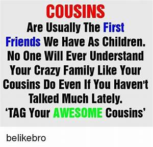 COUSINS Are Usually the First Friends We Have as Children ...