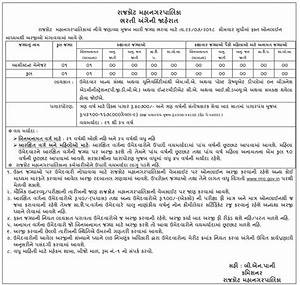 Rajkot Municipal Corporation (RMC) Recruitment for ...