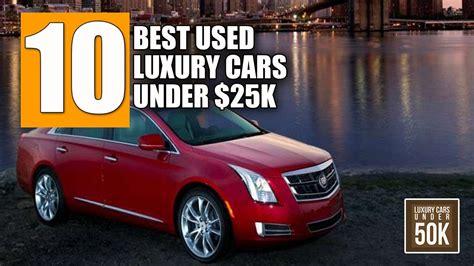 10 Best Used Luxury Cars Under $25,000  Luxury Cars Under