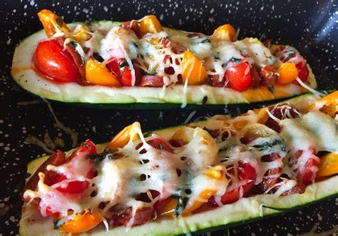 recette de courgettes au chorizo facon pizza cuisine blog
