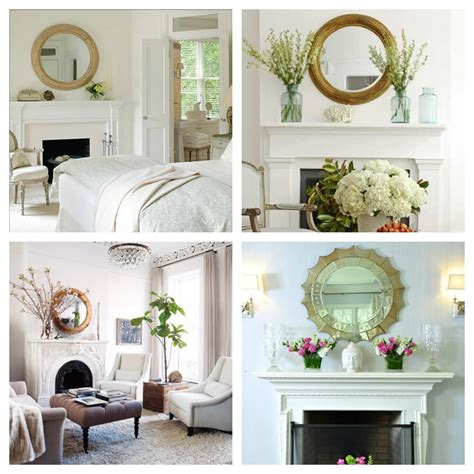 fireplace mantel mirror decorating ideas mirror mirror on the wall 8 fireplace decorating ideas delightfully noted