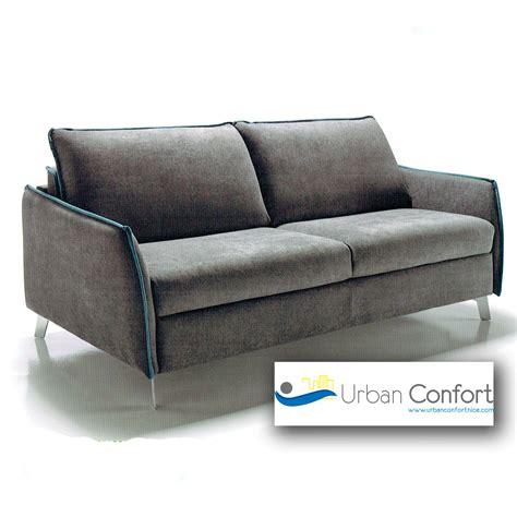 canapé lit moderne canapé lit martina promo confort