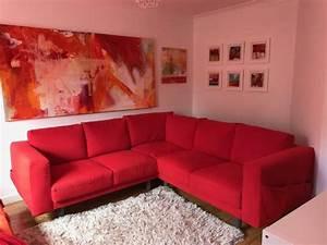 Ikea Sofa Norsborg : norsborg ikea red corner sofa in taunton somerset gumtree ~ Frokenaadalensverden.com Haus und Dekorationen