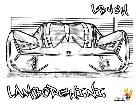 Kleurplaat Lamborghini Sesto Elemento by Kleurplaat Lamborghini Woyaolu Info