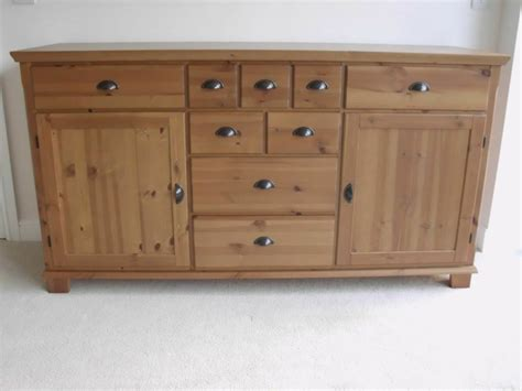 Ikea Markor Leksvik Sideboard. Massive Storage In Lovely