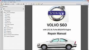 Volvo S60 2 3t Workshop Repair Manual