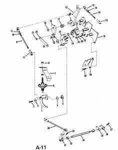 Mercury Marine 18 Hp Throttle  U0026 Shift Linkage  Manual  Parts
