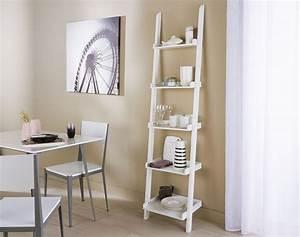 Echelle Decorative Blanche : etag re chelle 5 niveaux becquet ~ Teatrodelosmanantiales.com Idées de Décoration