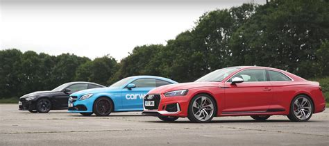 Audi Rs5 Vs. Bmw M4 Vs. Amg C63s In 360-degrees Of German