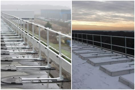 Osha Compliant & Non-penetrating Guardrail