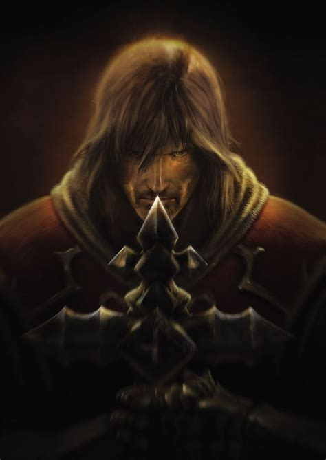 Gabriel Belmont From The Castlevania Reboot Lords Of