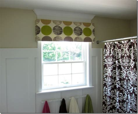 Simple Cornice by And Easy No Sew Window Valance In My Own Style