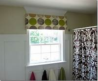 how to make a window valance Quick and Easy No Sew Window Valance - In My Own Style