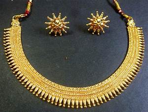 Indian bridal South Indian Surya Haar Gold Plate Necklace ...