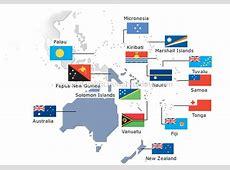 SOCIETY POLITICS FLAGS OCEANIA AND POLYNESIA