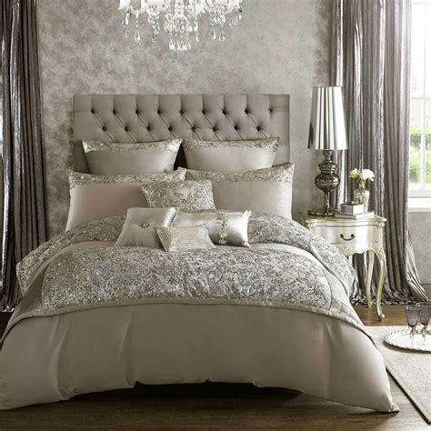 Alexa By Kylie Minogue Silver Grey Bedding Duvet