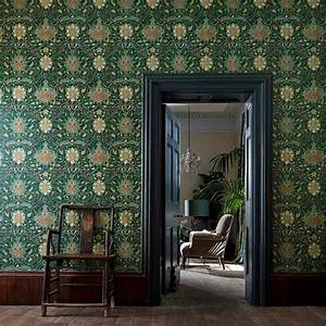 Morris Co : william morris co montreal 216431 wallpaper charcoal bronze fashion interiors fashion ~ Watch28wear.com Haus und Dekorationen
