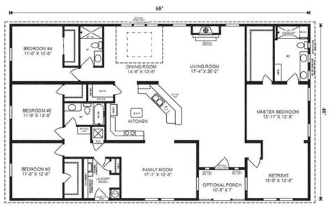 ranch house floor plans bedroom love  simple  watered jmypros house plans modular home