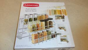 Pull Spice Rack By Rubbermaid by Rubbermaid 1951590 Pull Spice Rack 7r56 New