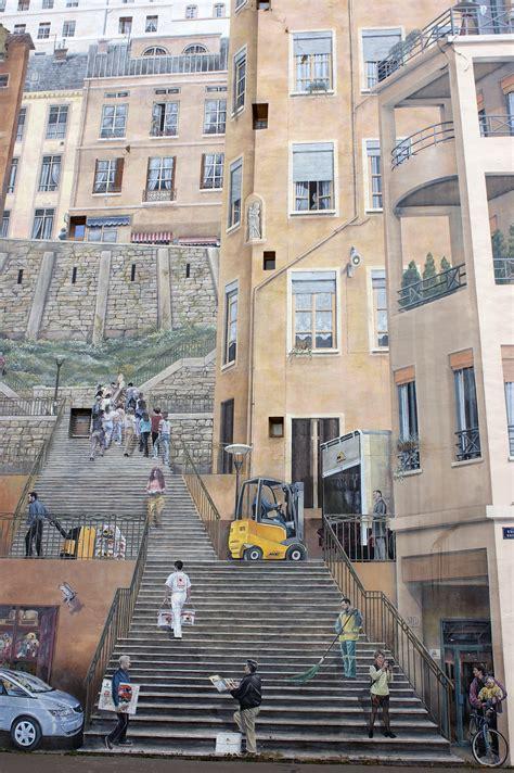le mur des canuts la croix rousse lyon mur peint photos galeries