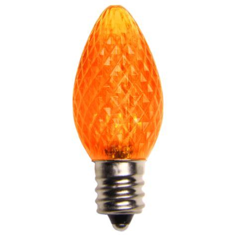 amber orange led christmas light bulbs