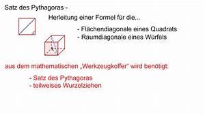 Satz Des Pythagoras Kathete Berechnen : satz des pythagoras diagonalenl ngen berechnen mathematik online lernen ~ Themetempest.com Abrechnung